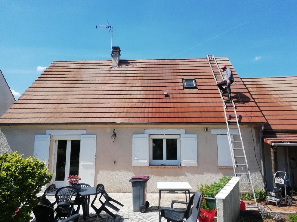 Nettoyage toiture Méry-sur-Oise