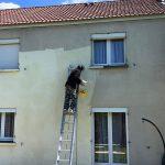 peinture facade cergy